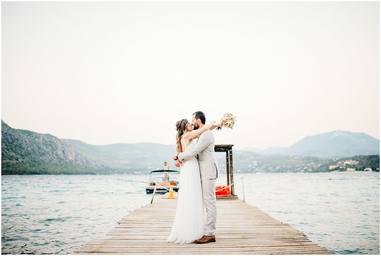 Wedding By The Sea Greece 80