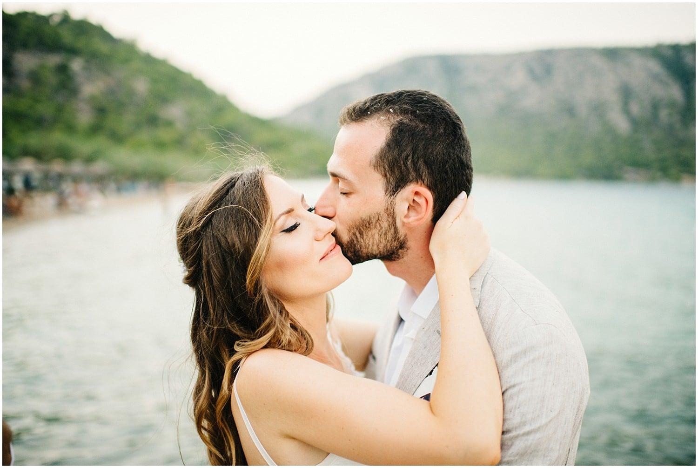 Wedding By The Sea Greece 85